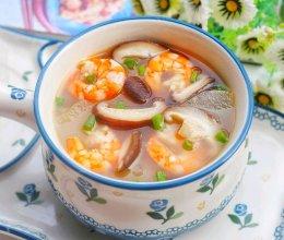 #中秋团圆食味#好喝不胖的冬瓜虾仁菌菇汤的做法