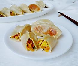 瓜蛋葱姜烫面烙的做法