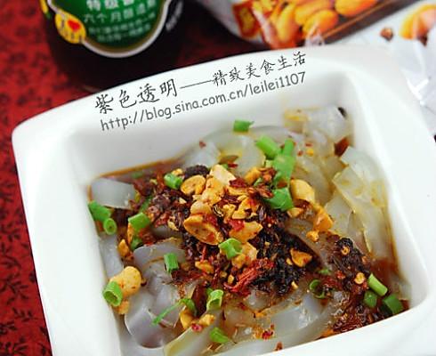 嗜辣族最登对凉菜:川北凉粉的做法