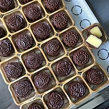 巧克力芋头蛋黄月饼
