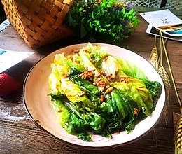 #我们约饭吧#蒜蓉蚝油生菜。的做法