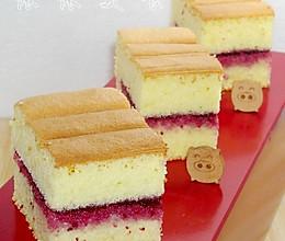 杨梅果酱夹心蛋糕的做法