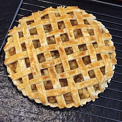 十寸清甜苹果派
