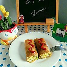 减肥早餐  鸡蛋卷