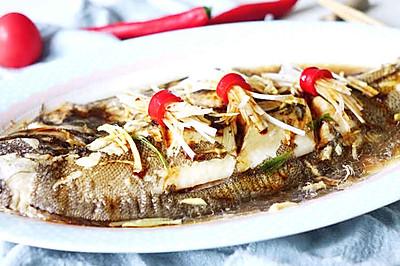 营养健康—清蒸比目鱼