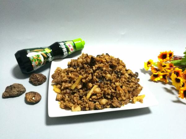 香菇炒肉末的做法