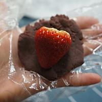 草莓豆沙大福的做法图解1