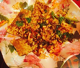 微波炉烧烤豆腐的做法