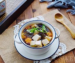 海带豆腐味噌汤的做法