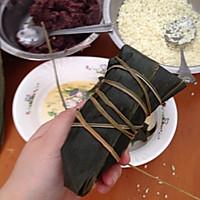 闹端午!碱水红豆粽(新手四角包法)的做法图解22