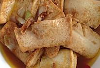 蚝油烧豆腐的做法