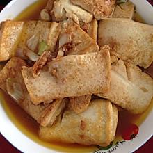 蚝油烧豆腐