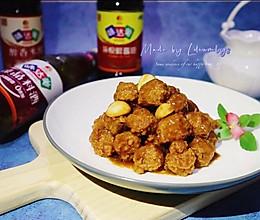 #中秋宴,名厨味#中秋宴,星厨汁糖醋丸子,酸甜香浓,秒见盘底的做法