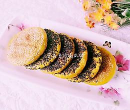 芝香豆沙南瓜饼(电饼铛版)的做法