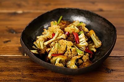 干锅花菜|美食台