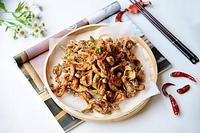 """香酥炸蘑菇#在""""家""""打造ins风美食#"""