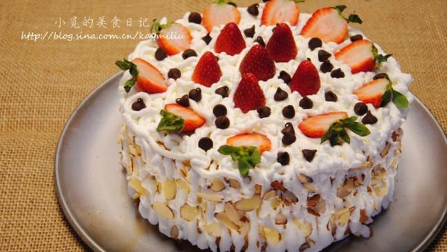 草莓奶油夹心蛋糕的做法