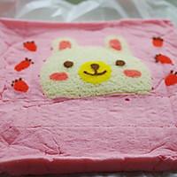 萌兔子彩绘蛋糕卷#特百惠龙卷风佳作#的做法图解15