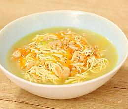 迷迭香:上汤三丝的做法