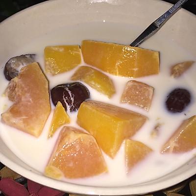 木瓜牛奶糖水