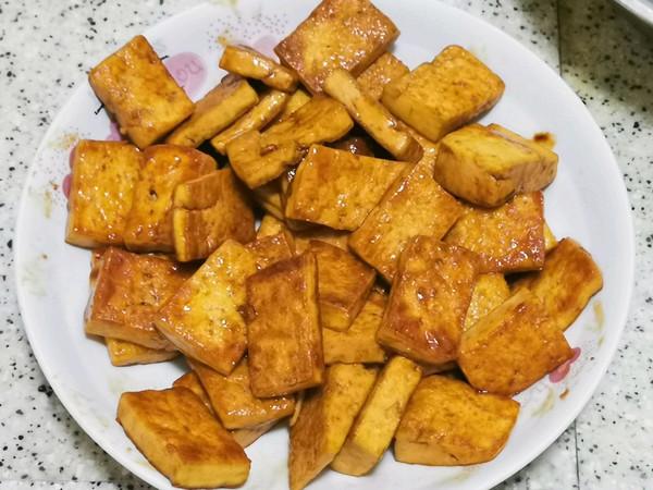日式照烧豆腐(自调汁)的做法