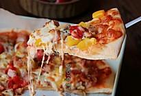 #入秋滋补正当时#番茄薄底披萨的做法