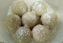 红豆椰蓉糯米糍的做法