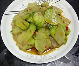 红烧儿菜的做法