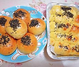 早餐包(豆沙、肠)的做法