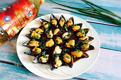 葱油海虹+舌尖上的美食