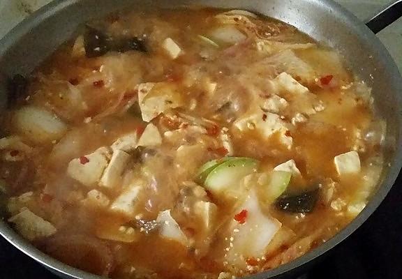 韩国酱汤的做法