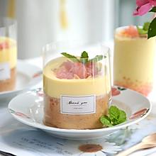 #全电厨王料理挑战赛热力开战!#杨枝甘露爆浆蛋糕