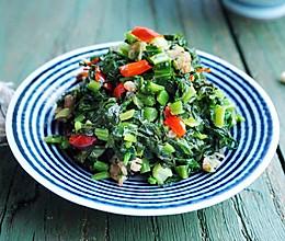 炒鸡下饭的蚝油雪菜炒肉末的做法