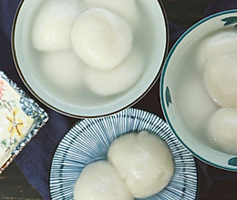 元宵节之际,一碗鲜肉汤圆送给爱吃肉的你的做法