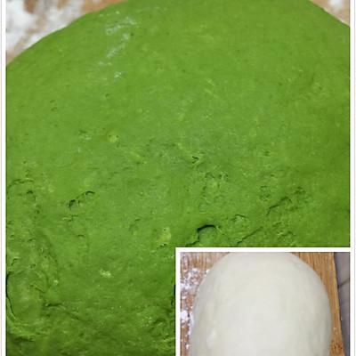 翡翠白菜-------新年饺子的做法 步骤2