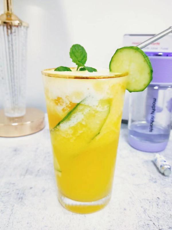 菠萝气泡水 摩飞气泡果汁杯 宅家轻松做气泡水