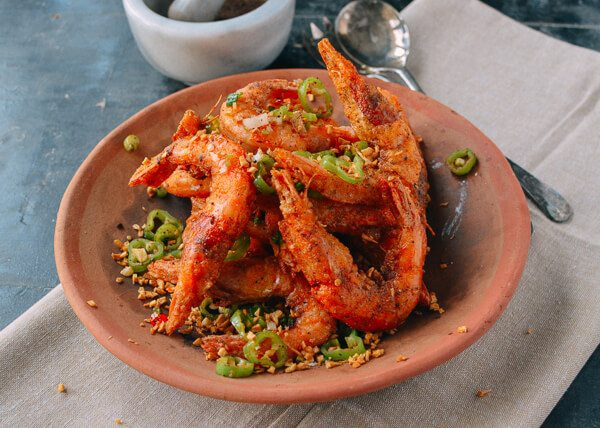 专治众口难调   椒盐虾 (附自制椒盐的做法)的做法