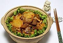 干锅腊肉土豆片#德国MIJI爱心菜#的做法