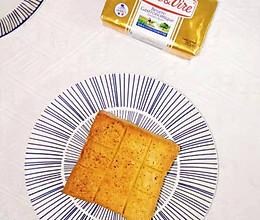 #以美食的名义说爱她#黄油海盐黑胡椒吐司的做法