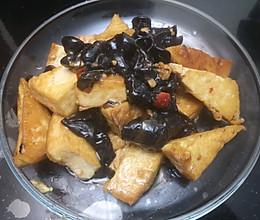 炒豆腐木耳的做法