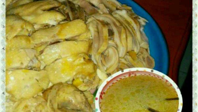 猪肚包土鸡4吃