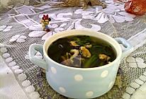 绿菠淡菜汤#节后清肠大作战#的做法