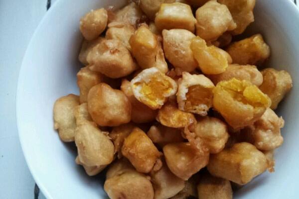 炸红薯的做法