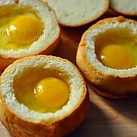 鸡蛋面包盅的做法图解10