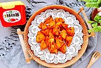 葱伴侣6月香韩式辣椒酱烤薯角的做法