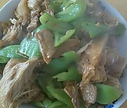 尖椒猴头菇的做法