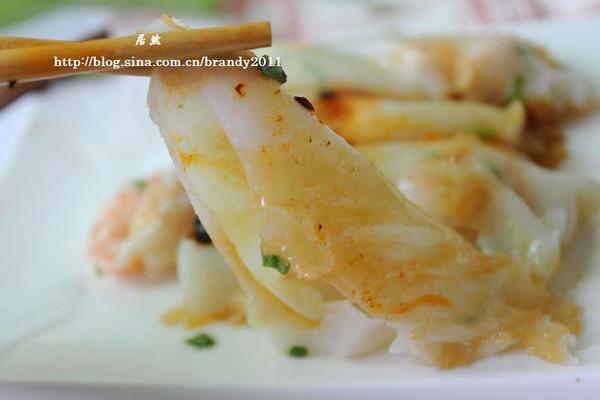 鲜虾肠粉 的做法