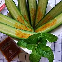 凉黄瓜#丘比沙拉汁#