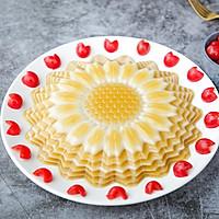 向日葵椰汁千层马蹄糕的做法图解11