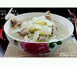 炖冬瓜排骨汤的做法